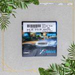 Tròng Kính Cho Người Lái Xe Chemi X-DRIVE 1.60 ASP CRYSTAL U2 COATED