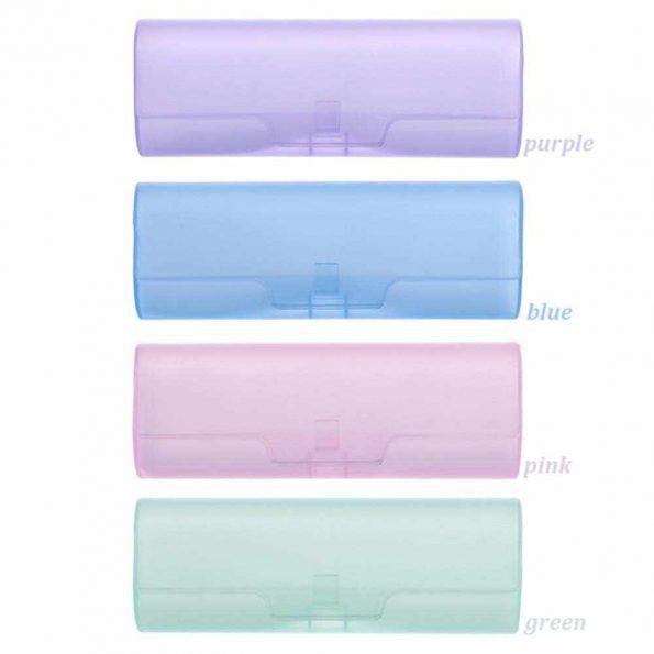 Hộp nhựa đựng kính nhiều màu